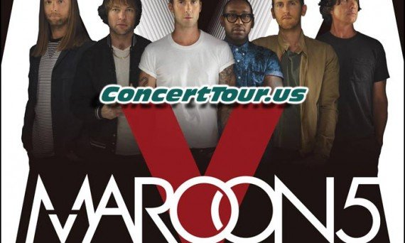 Maroon 5 Adds Handful of U.S. Tour Dates!