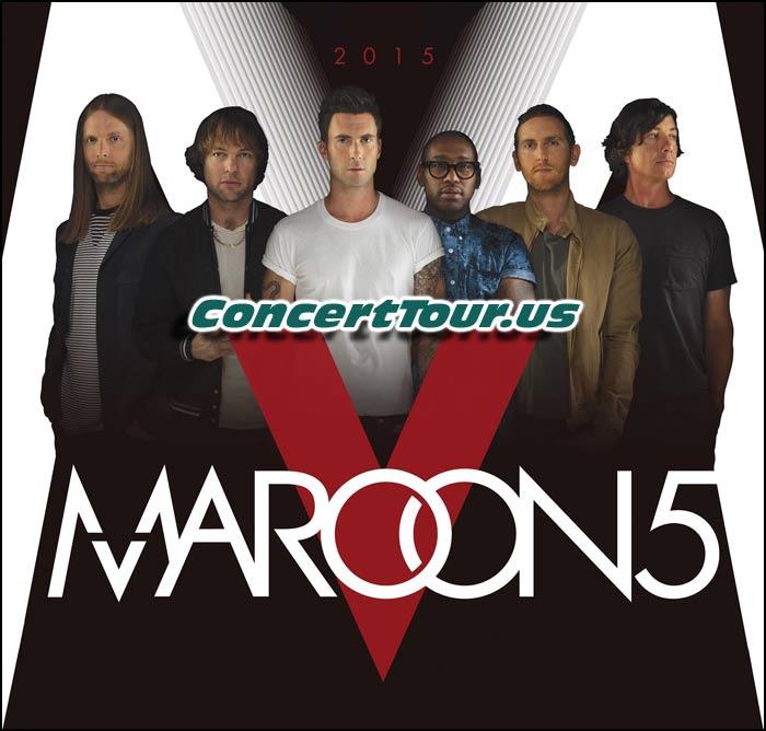 Maroon 5 Adds Handful of U.S. Tour Dates!