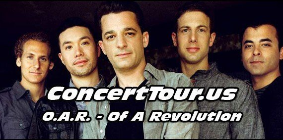 The Band O.A.R. Will Be Hitting The Road On Tour In Late Summer 2015. Fans Can't Wait!