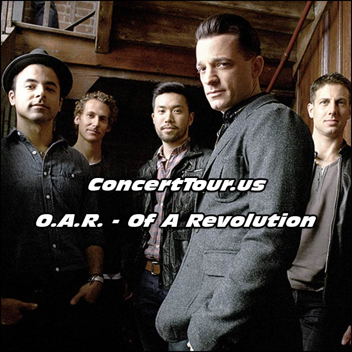 O.A.R, Of A Revolution, is ready for their 2016 Winter Tour!