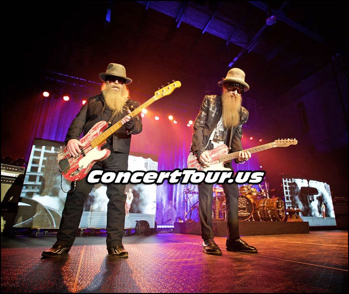 ZZ TOP Presents Their 'Grooves & Gravy' Summer Concert Tour with Blackberry Smoke