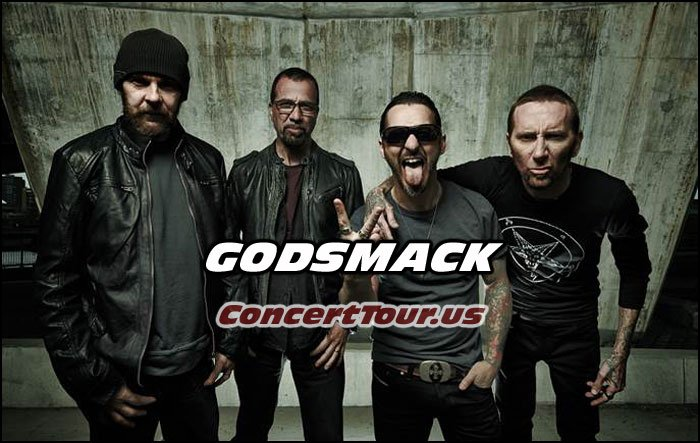 GODSMACK is louder and better than ever! Catch them live on their new tour!