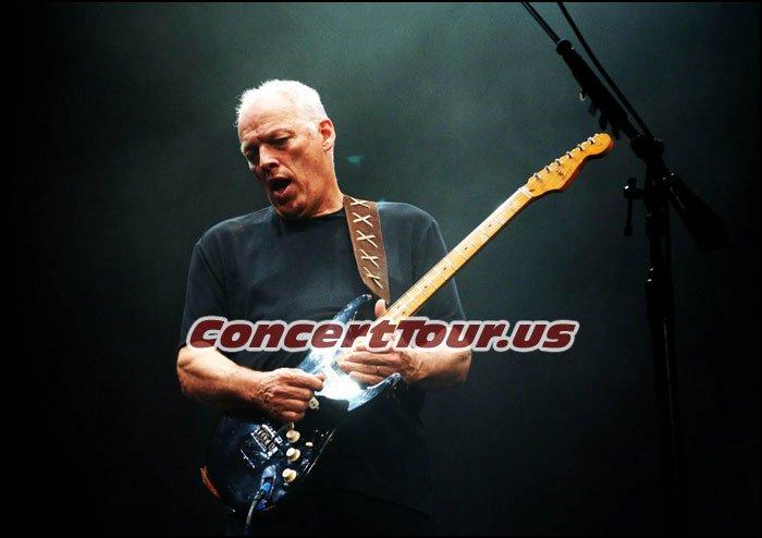 David Gilmour Announces Concert Tour Dates For 2016. Pink Floyd fans can't wait!