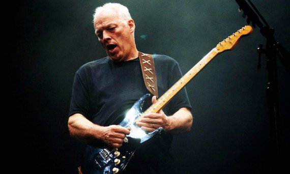 David Gilmour of Pink Floyd continues to pump out the music.