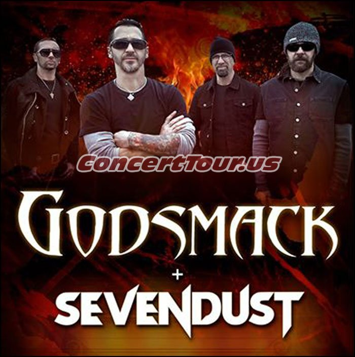 Godsmack will be on tour this Fall with Sevendust and Breaking Benjamin!