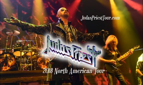 See Judas Priest on their upcoming 2018 concert tour.