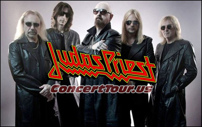Judas Priest Continue their Redeemer of Souls Concert Tour!
