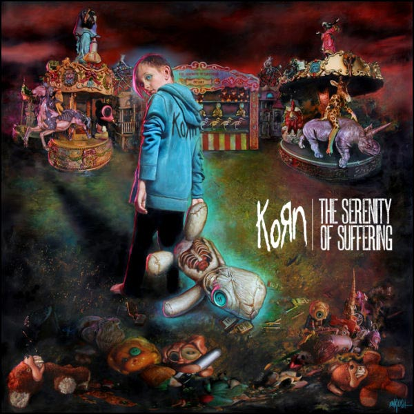 KORN's latest album 'The Serenity of Suffering'.
