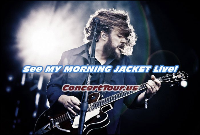 Fan of My Morning Jacket?? You Can Catch Them Live In Concert This Fall!