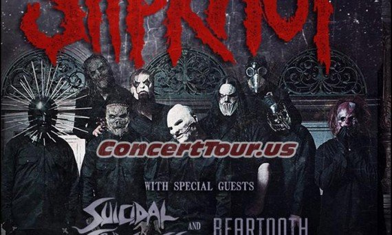 SLIPKNOT Adds More Tour Dates To Their Busy Tour Schedule. Suicidal Tendencies will be joining them!