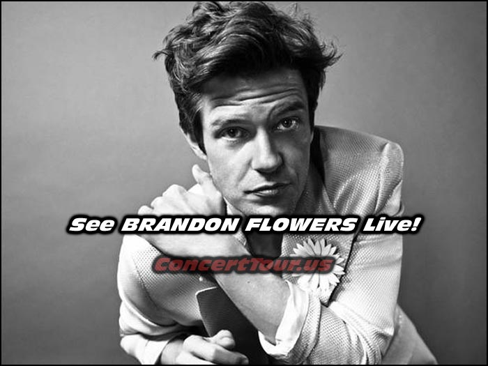 Brandon Flowers of the band The Killers plans out small 2015 fall Concert Tour!