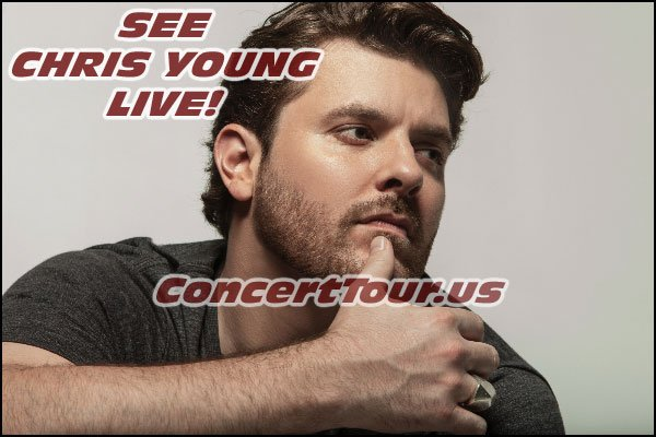CHRIS YOUNG adds to the country music concert tours that are planned for the rest of the year! Country Music Fans Unite!