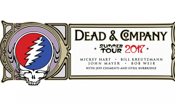 DEAD & COMPANY : Mickey Hart, Bill Kreutzmann, John Mayer & Bob Weir. 2017 Summer Tour Announced!