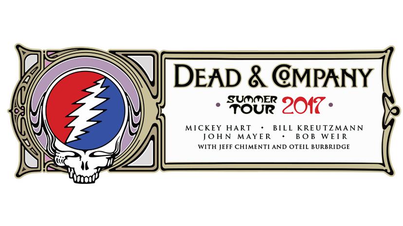 DEAD & COMPANY : Mickey Hart, Bill Kreutzmann, John Mayer & Bob Weir. 2017 Summer Tour Announced!