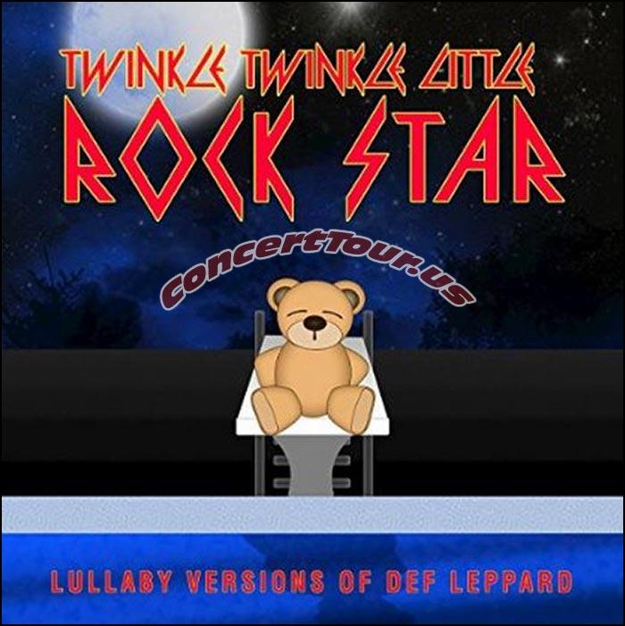 Def Leppard Lullaby Music by Twinkle Twinkle Little Rock Star