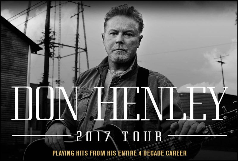 DON HENLEY has a small handful of tour dates in June, hopefully there's more to come!