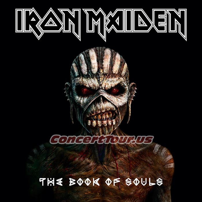 IRON MAIDEN's Latest Studio Album THE BOOK OF SOULS is Due Out Soon! Listen to SPEED OF LIGHT here!