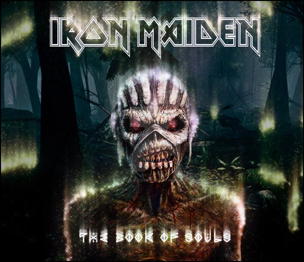 The 'Book of Souls' is the latest studio album just released by IRON MAIDEN.