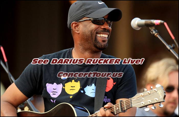 Here's Your Chance To See DARIUS RUCKER Live in Concert!