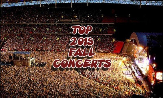 Check our some of the hottest concert tours planned for the Fall of 2015.