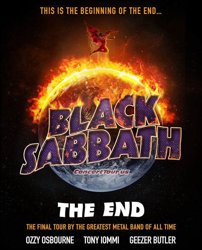BLACK SABBATH Announce Their 2016 Tour Plans, Trek Named 'The End Tour'