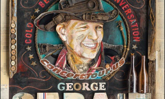 Album Art / Album Cover for the latest George Strait Studio Record 'Cold Beer Conversations'