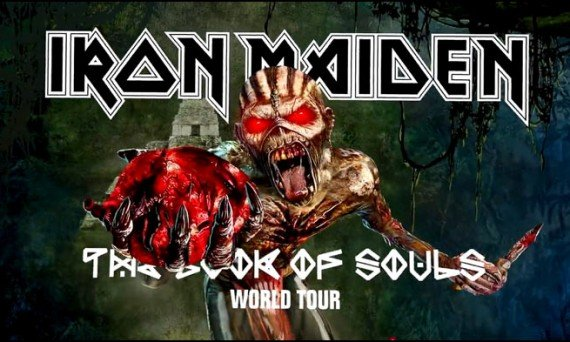 Iron Maiden Hits The Road in 2016 in Support of 'The Book of Souls' Album They Just Released.