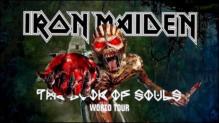 Iron Maiden Tour 2016 Iron Maiden Concert Tour Dates Concert Tour
