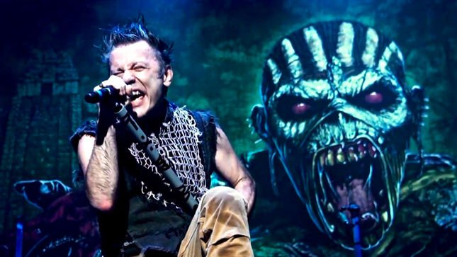 Don't miss your chance to see iron Maiden in 2017.