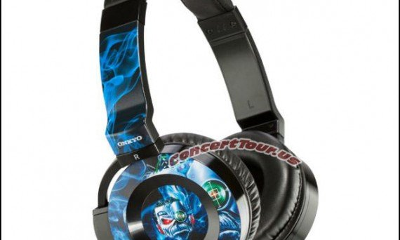The Ed-Ph0n3s - Iron Maiden Heavy Metal Headphones made in collaboration with Music & Sound giant Onkyo!