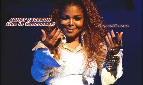 Janet Jackson starts her tour off in Vancouver Canada!