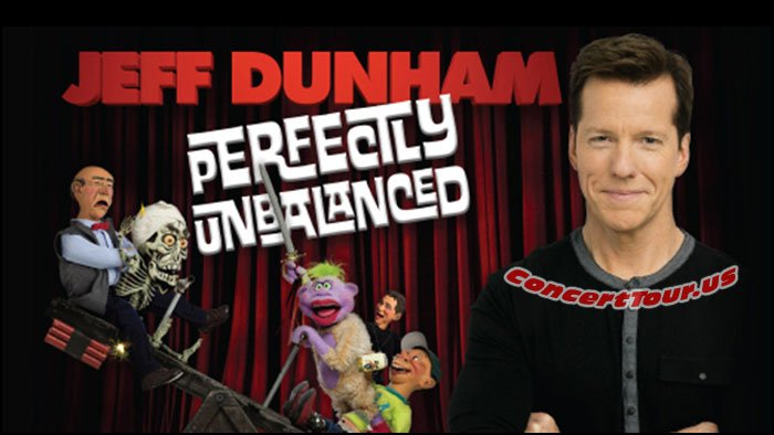 JEFF DUNHAM Has A Whole New Act For His Live Shows in 2017. See Him Perform on his 'Perfectly Unbalanced Tour'!