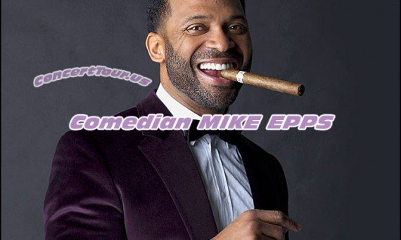 MIKE EPPS takes his comedy act on the road. See him live at a venue near you!