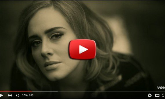 Adele music video for Hello from her album 25