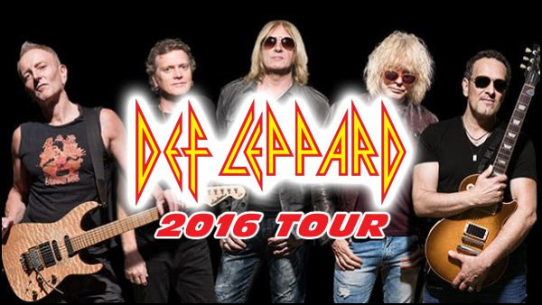 Did you miss the recent Def Leppard concert tour? Don't worry, they will be back in North America for the early part of 2016.