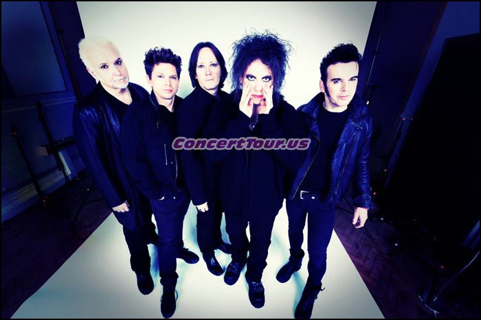 THE CURE are all set to go on tour in 2016. Fans can't wait to see them live in concert!