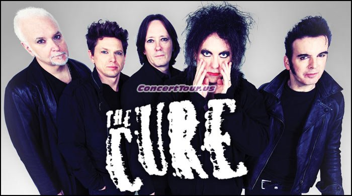 THE CURE Sells Out So Fast That Venues Are Adding Second Shows! You Now Have No Excuse To Miss THE CURE Live in Concert.