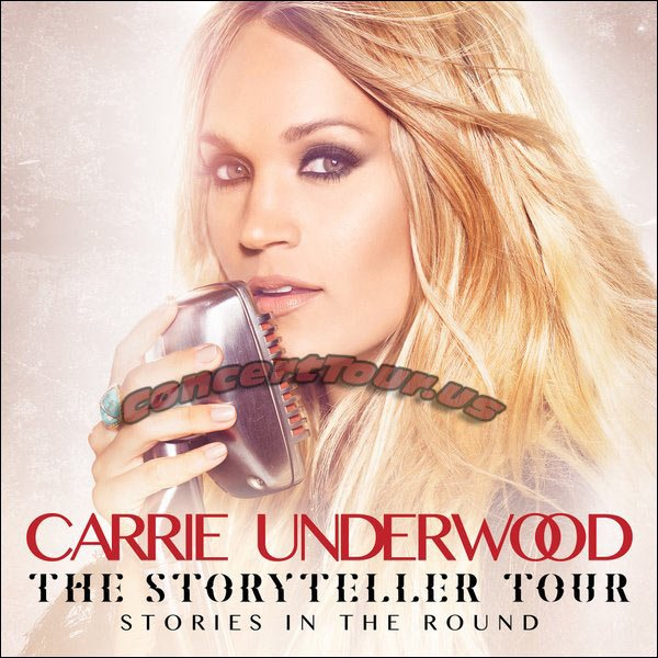 Carrie Underwood Takes her Storyteller Tour on the Road! Country Music Fans, Get Ready To Party!