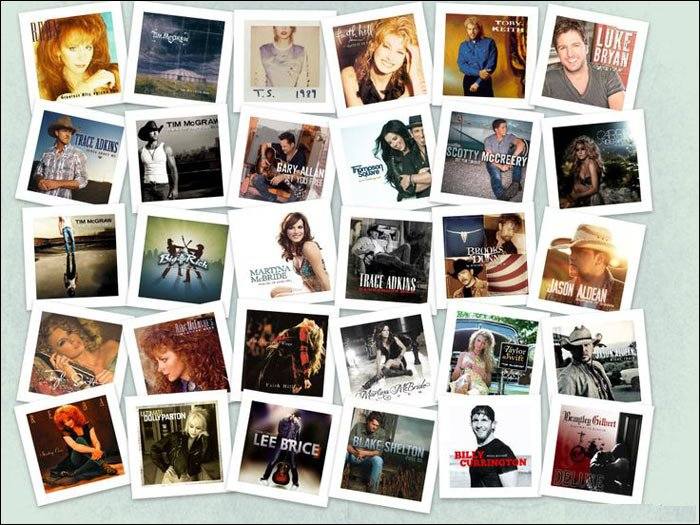Almost every big name in country music will be extremely busy in 2016.