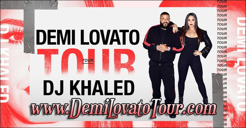 Demi Lovato will be on tour in 2018 with DJ Khaled!
