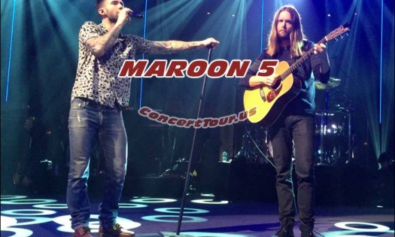 Not only can you watch Maroon 5 live in the video above, you can see them in concert in 2016.