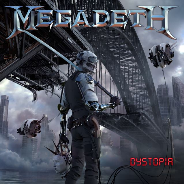 DYSTOPIA, the latest studio record by Heavy Metal Band MEGADETH. Album is Due Out Late January 2016.