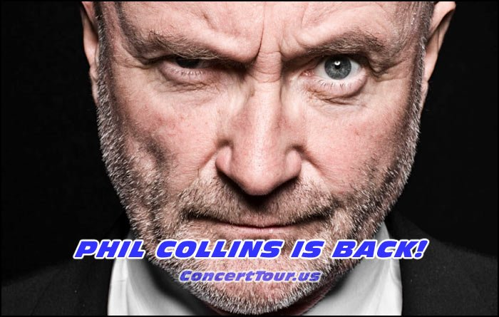 Fans of the band Genesis are psyched! Phil Collins just announced his musical comeback for 2016.