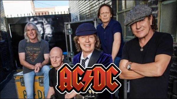 Brian Johnson, Angus Young and all the rest of AC/DC are ready to kick some butt on stage in 2016!