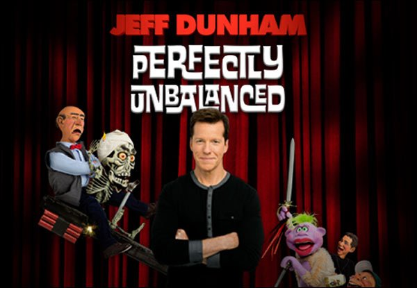 Jeff Dunham is presently on his 2016 tour called Perfectly Unbalanced! Don't Miss Your Chance to See Him Live in 2016.