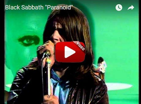 The song PARANOID was Released by BLACK SABBATH in 1970.