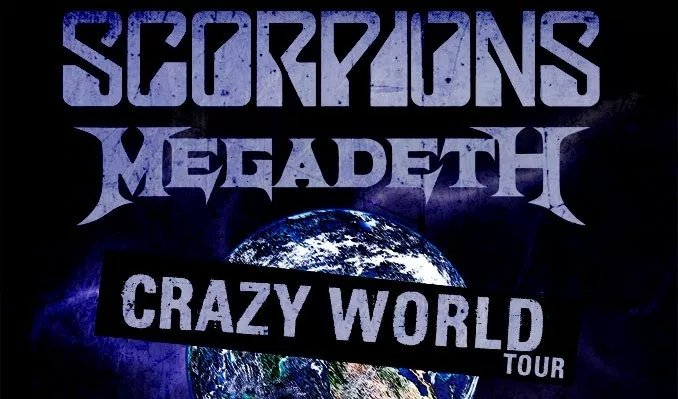 Megadeth tour dates in Brisbane