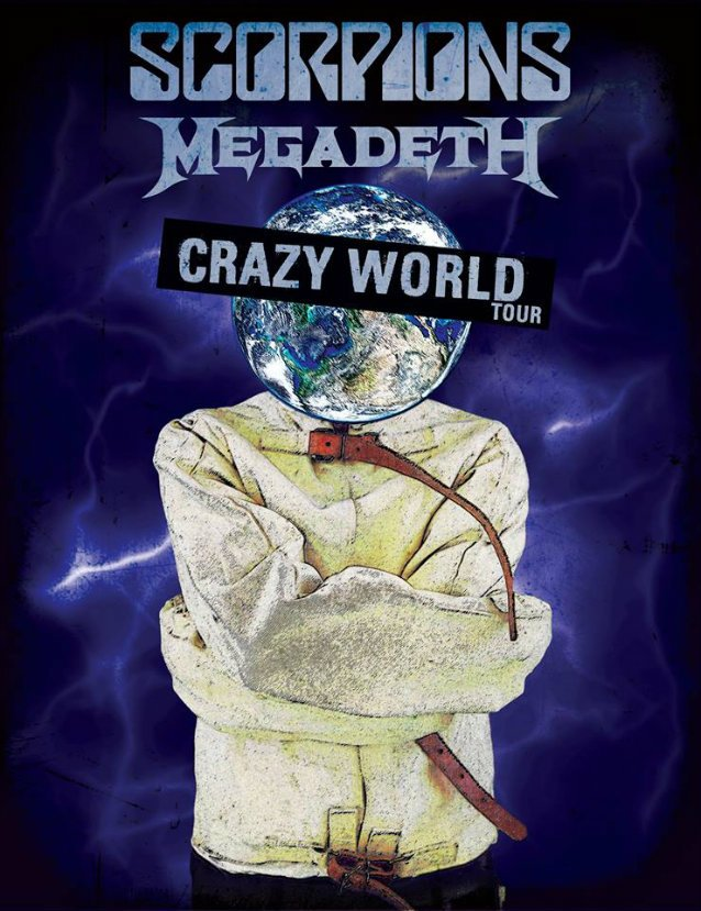 Crazy World Tour - The Scorpions and Megadeth