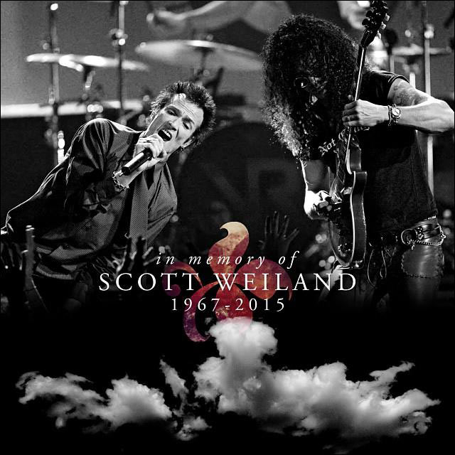 SCOTT WEILAND, One of the Greats of Rock N Roll that we will NEVER FORGET. Rest In Peace Scott Weiland.