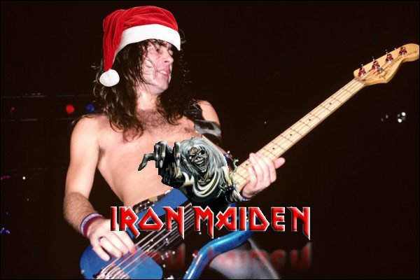 Steve Harris Officially Forms IRON MAIDEN 40 years Ago Today on Christmas Day in 1975!!